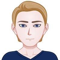 Мужчина - 21-28 лет, блондин