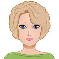 Женщина - 34-40 лет, блондинка